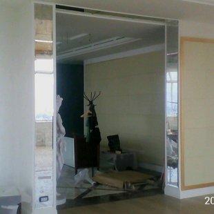 Состаренные зеркала в интерьере.