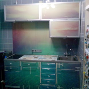 Преобразите вашу кухню. Как стало.